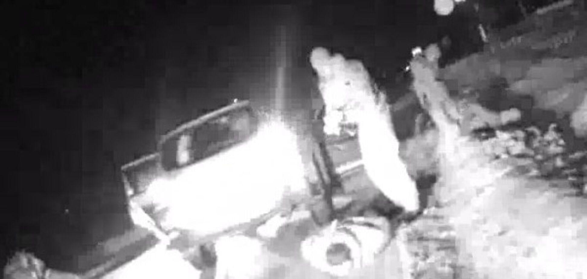 Як у кіно: в Запоріжжі поліція розстріляла авто п'яних дебоширів