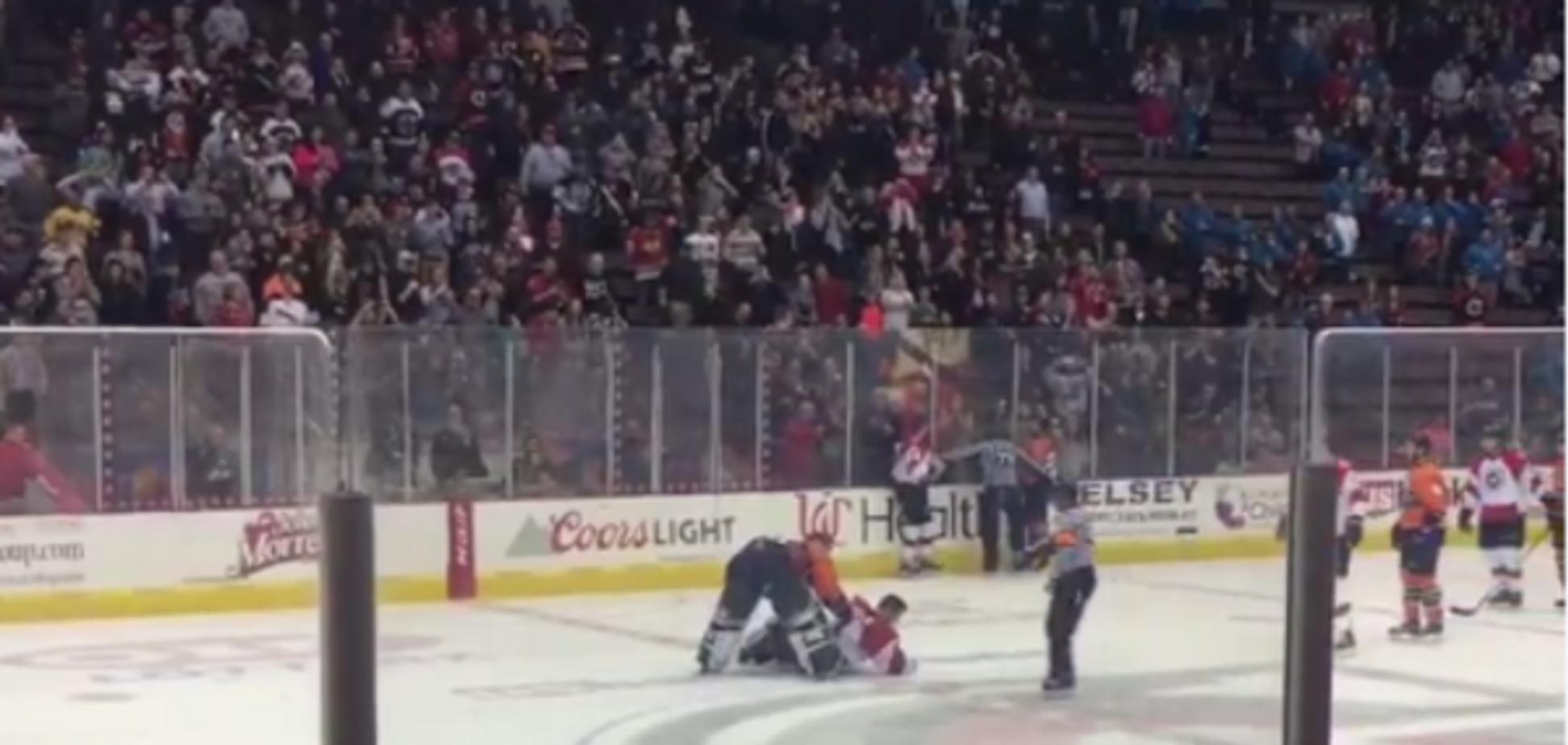 драки хоккей