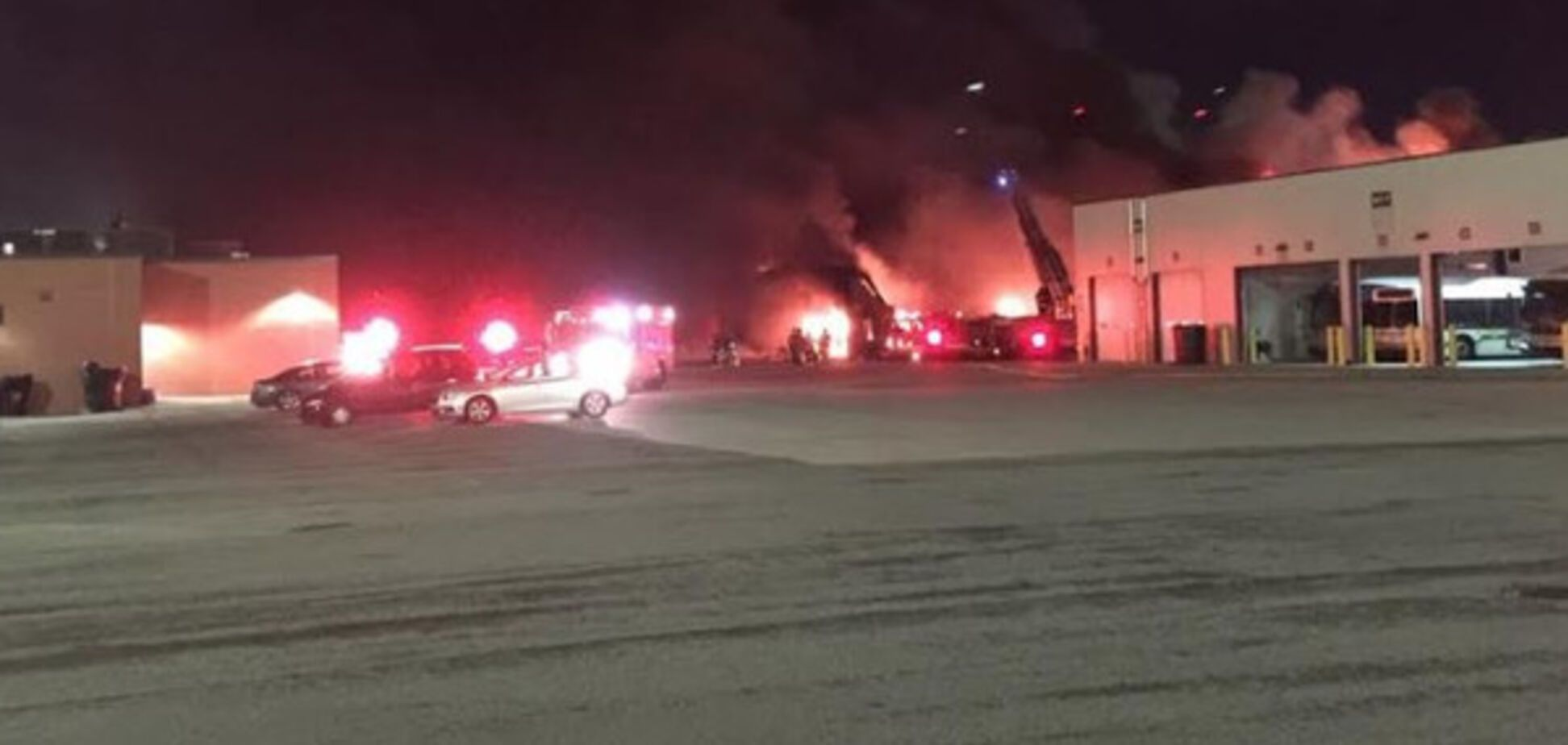 Пожежа в Детройті