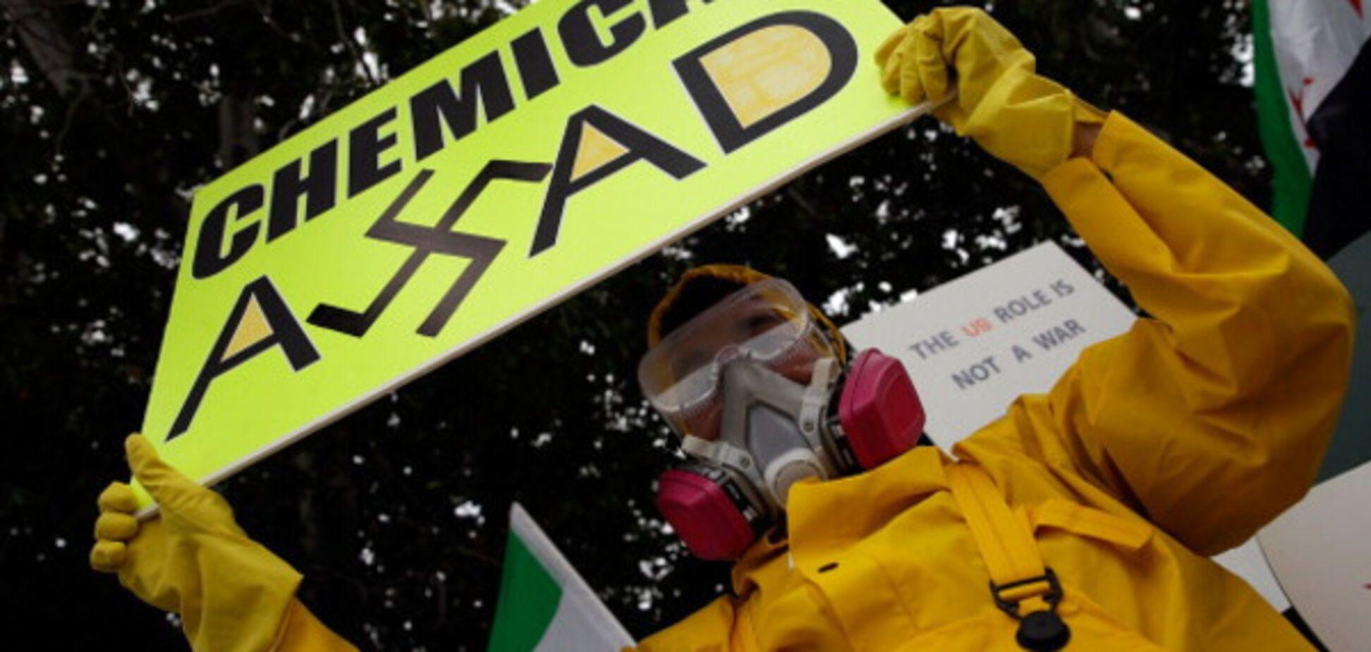 протест против Асада