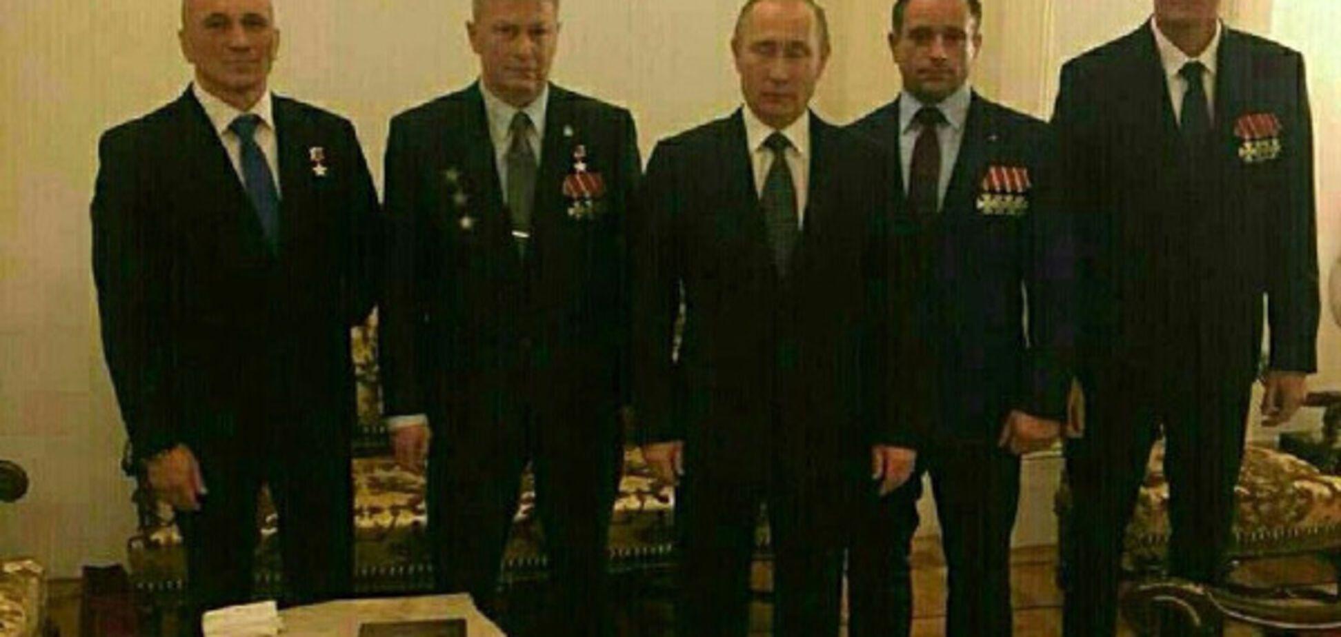 Торжественные прием в Кремле