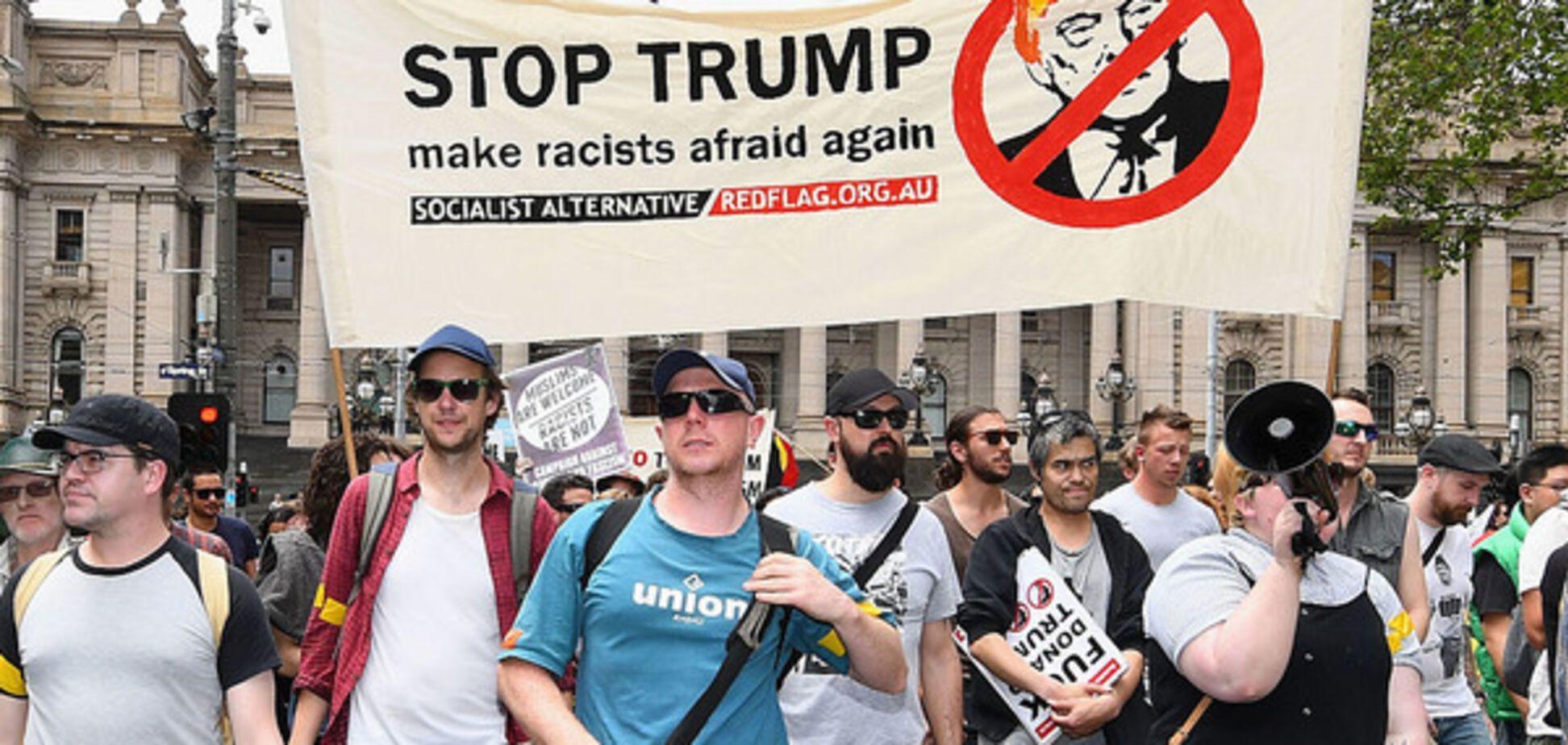 трамп протест инаугурация