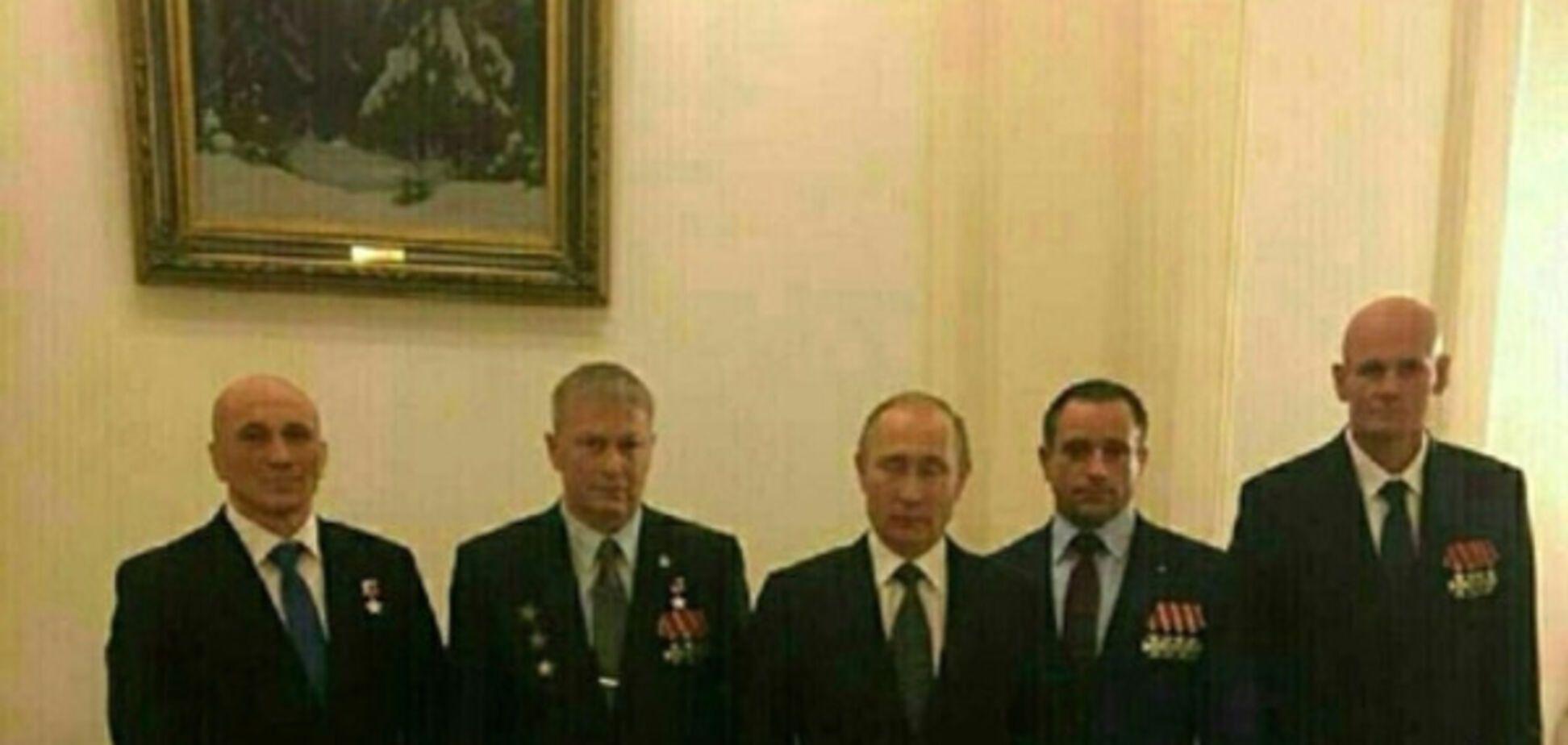 Владимир Путин и Дмитрий Уткин