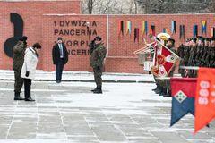 'Мы сделали огромный шаг': премьер Польши поприветствовала американских солдат