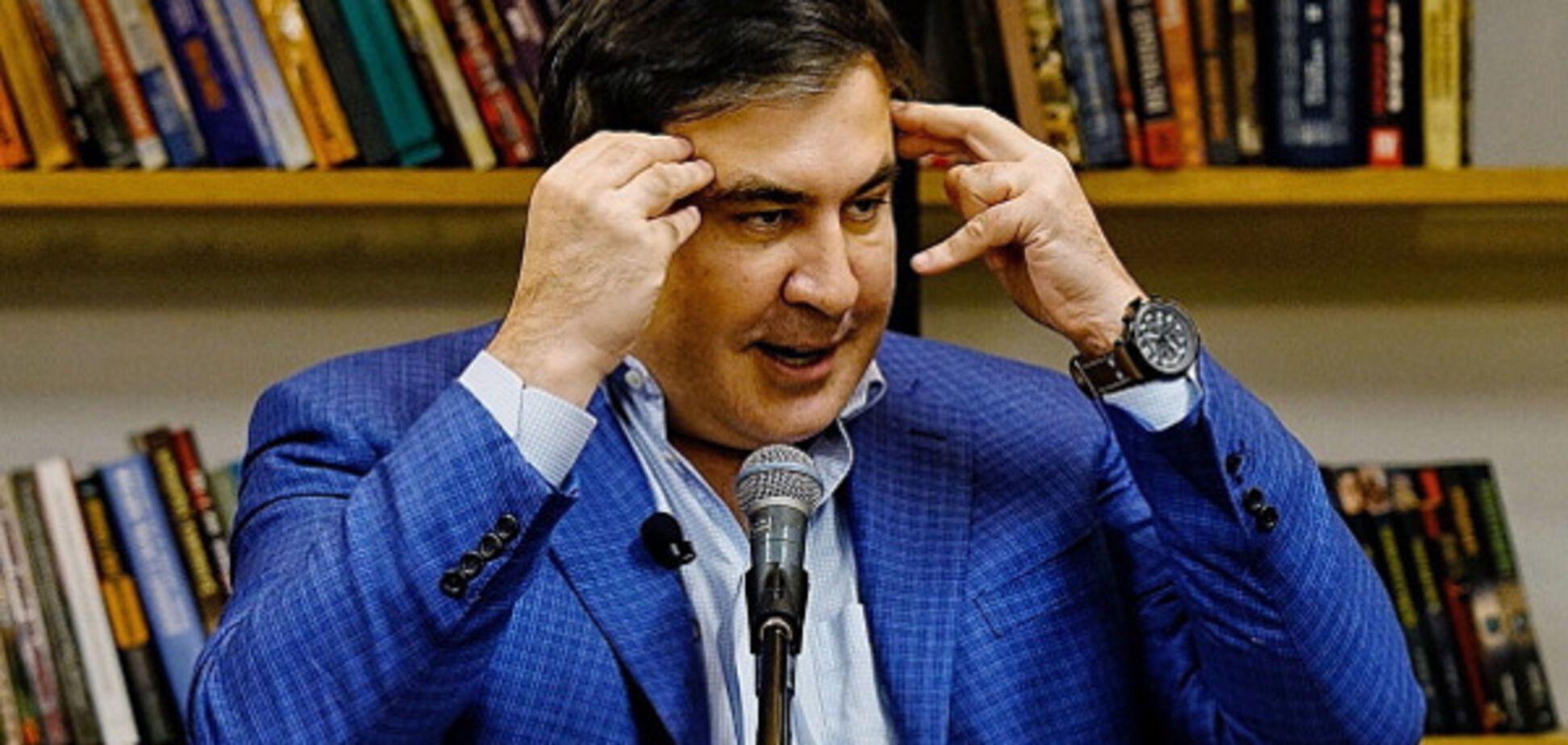 'Неприкрытый живот': видео с Саакашвили взбудоражило соцсети