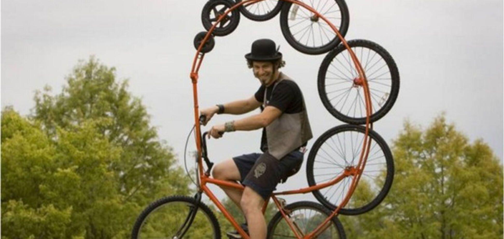 Безумный велосипед Тодда Кундла