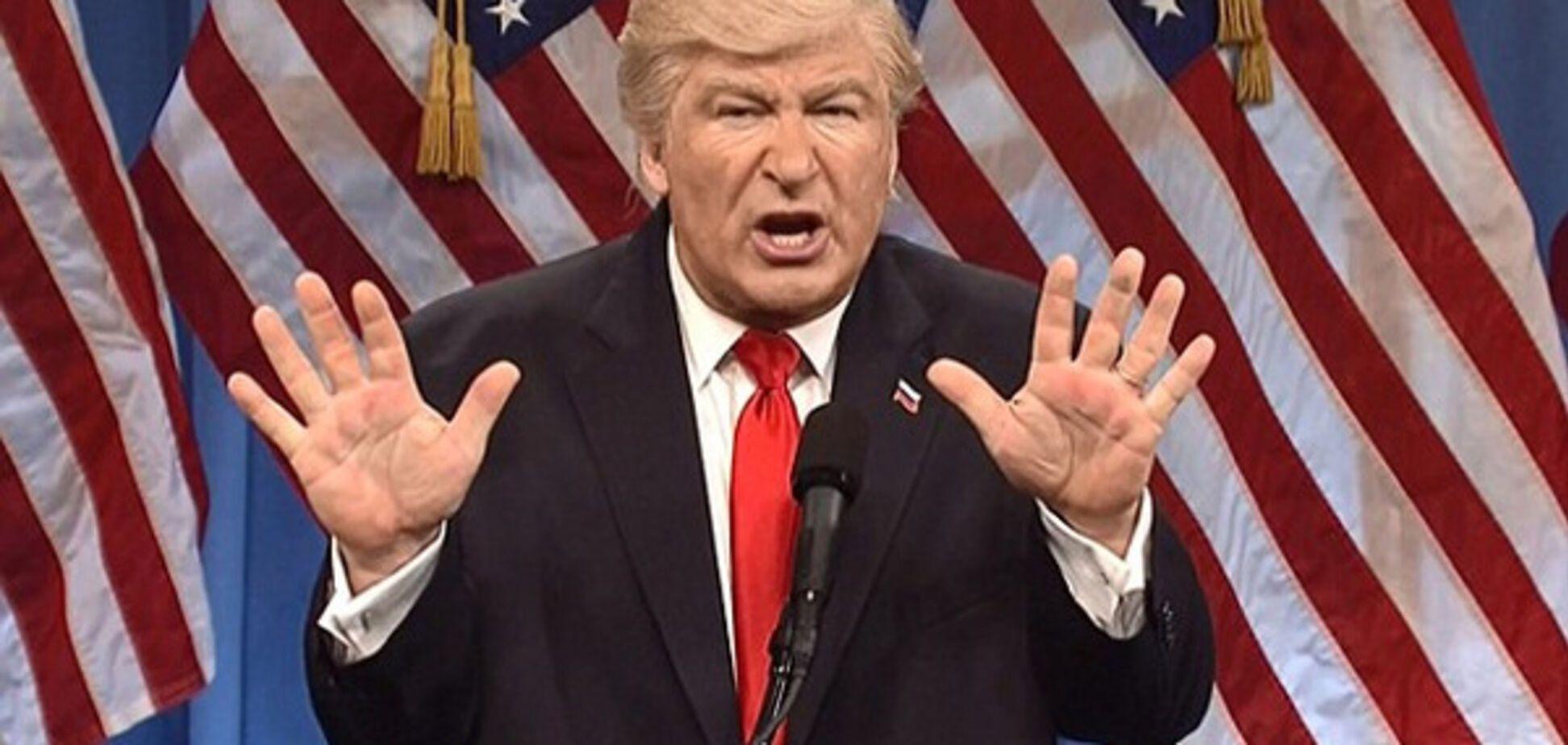 Трамп в исполнении Болдуина