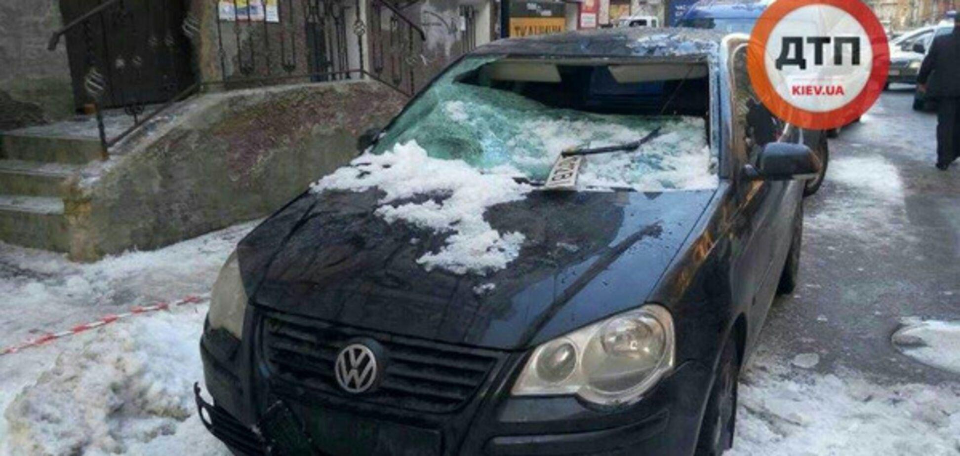Упал снег