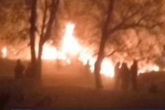 Крушение самолета в Бишкеке