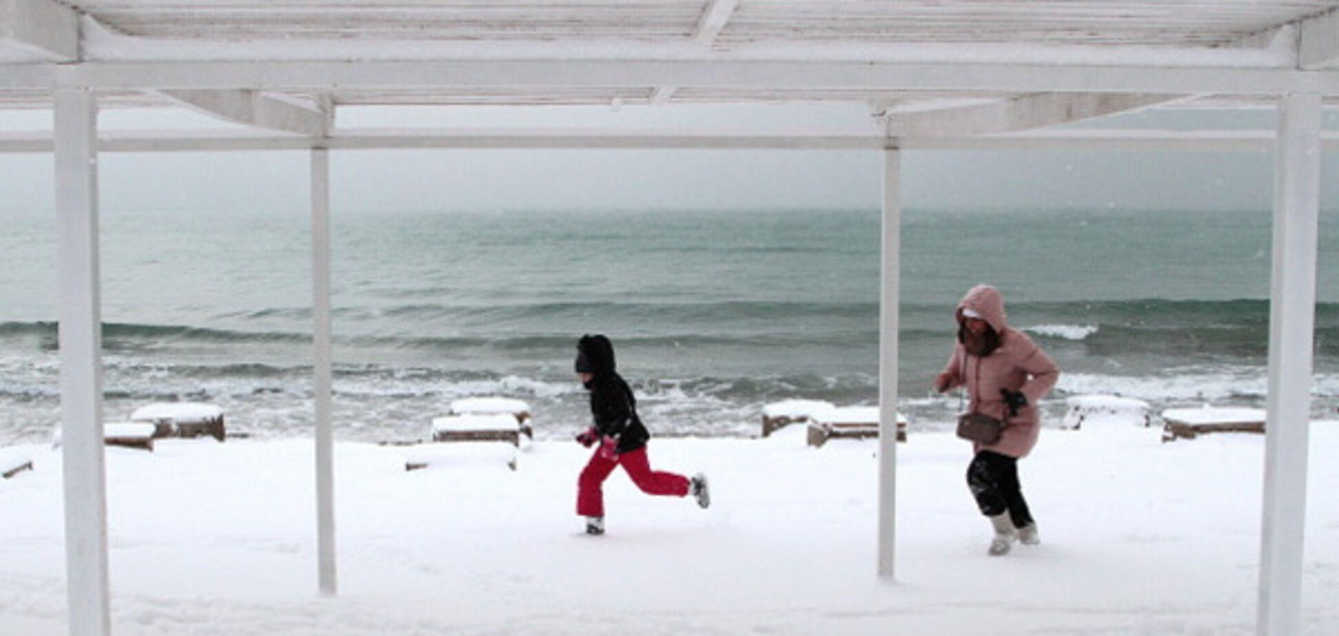 Похолодания погода в Украине