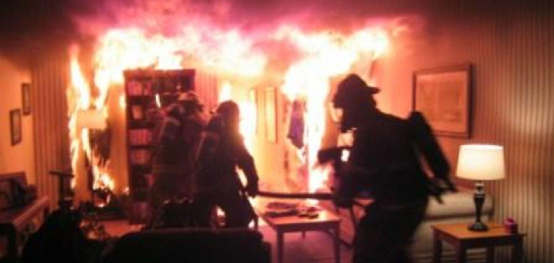 В Запорожье пожар в жилом доме унес очередную жизнь