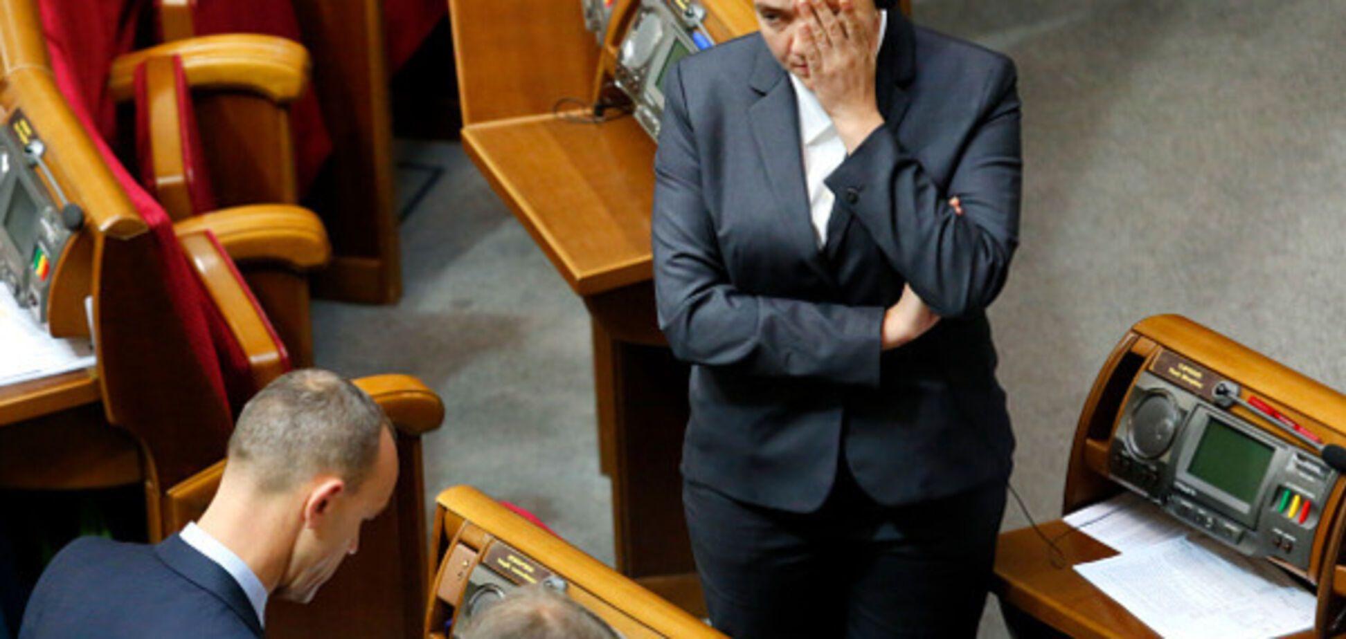 Рада провалила постановление о зарплатах для депутатов