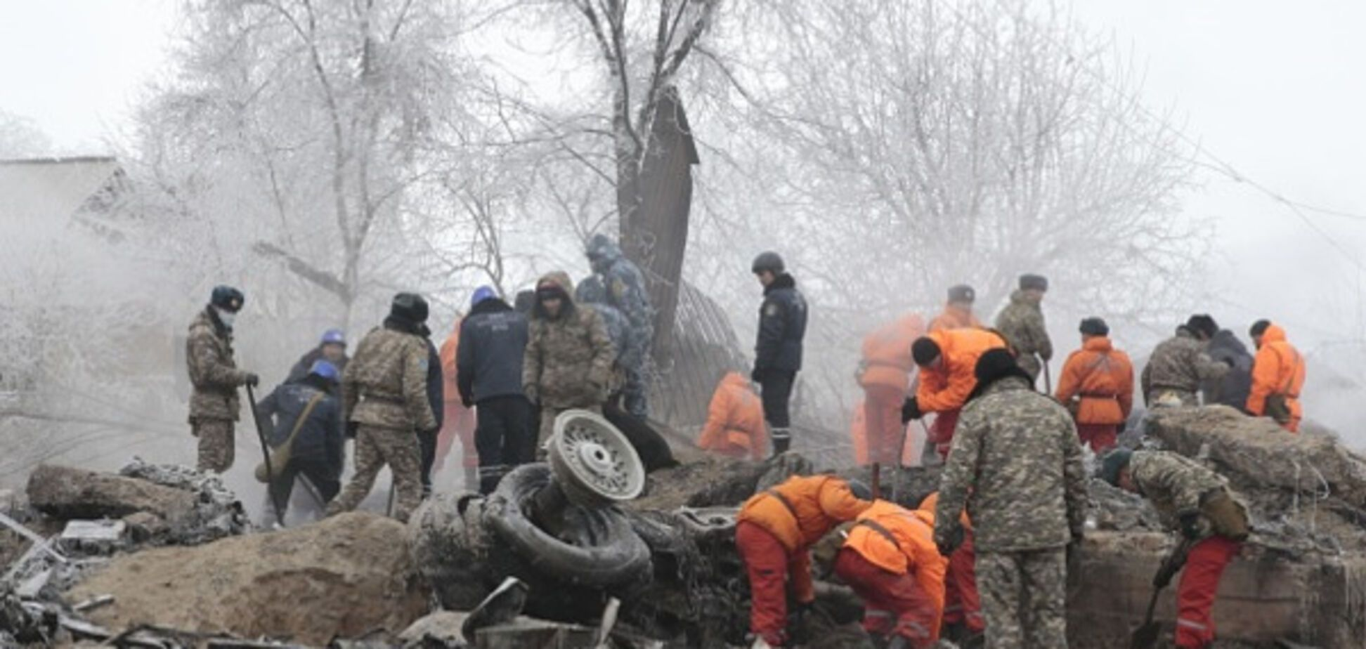 Крушение Boeing-747 в Кыргызстане