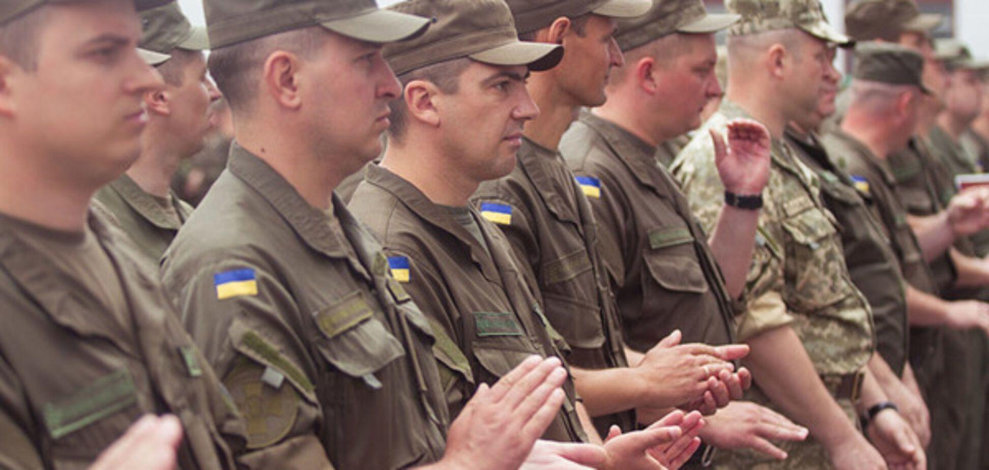Офицеры Нацгвардии