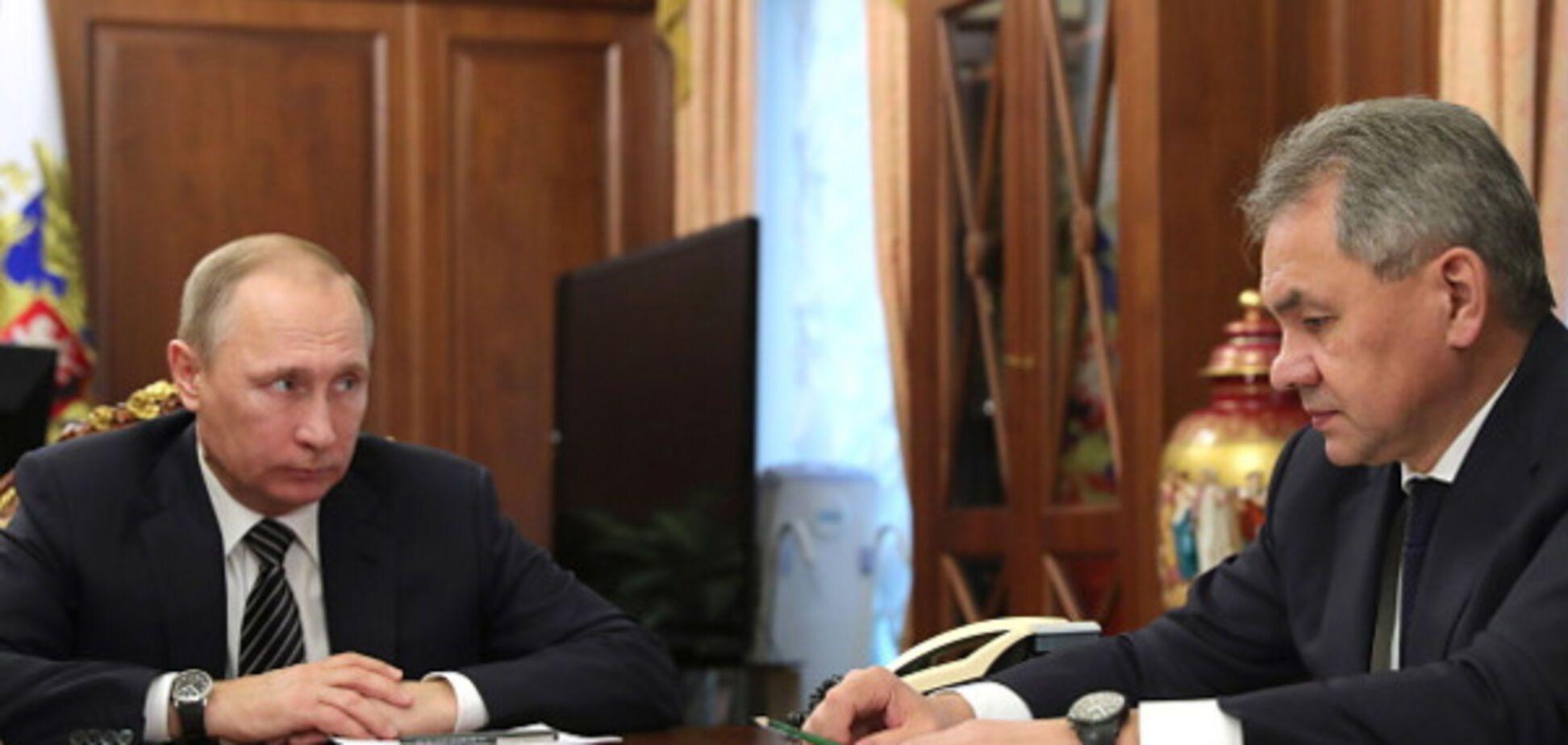 Владимир Путин Сергей Шойгу