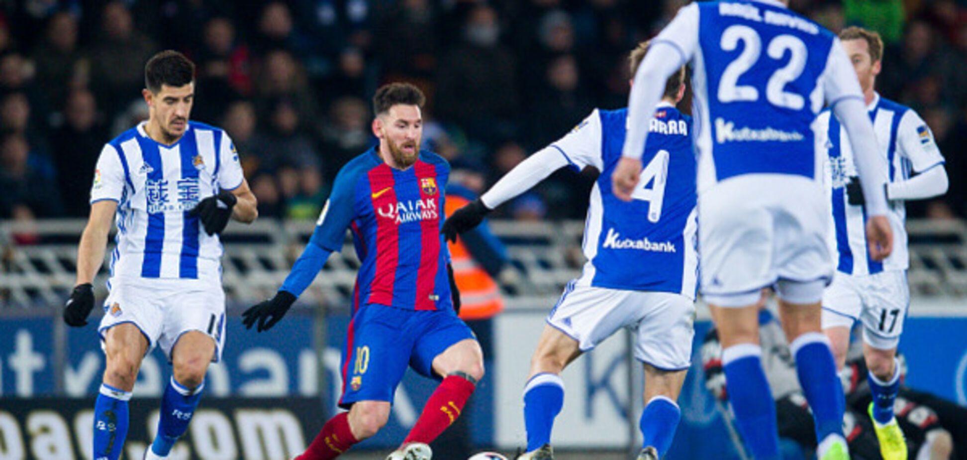 Барселона - Реал Сосьедад