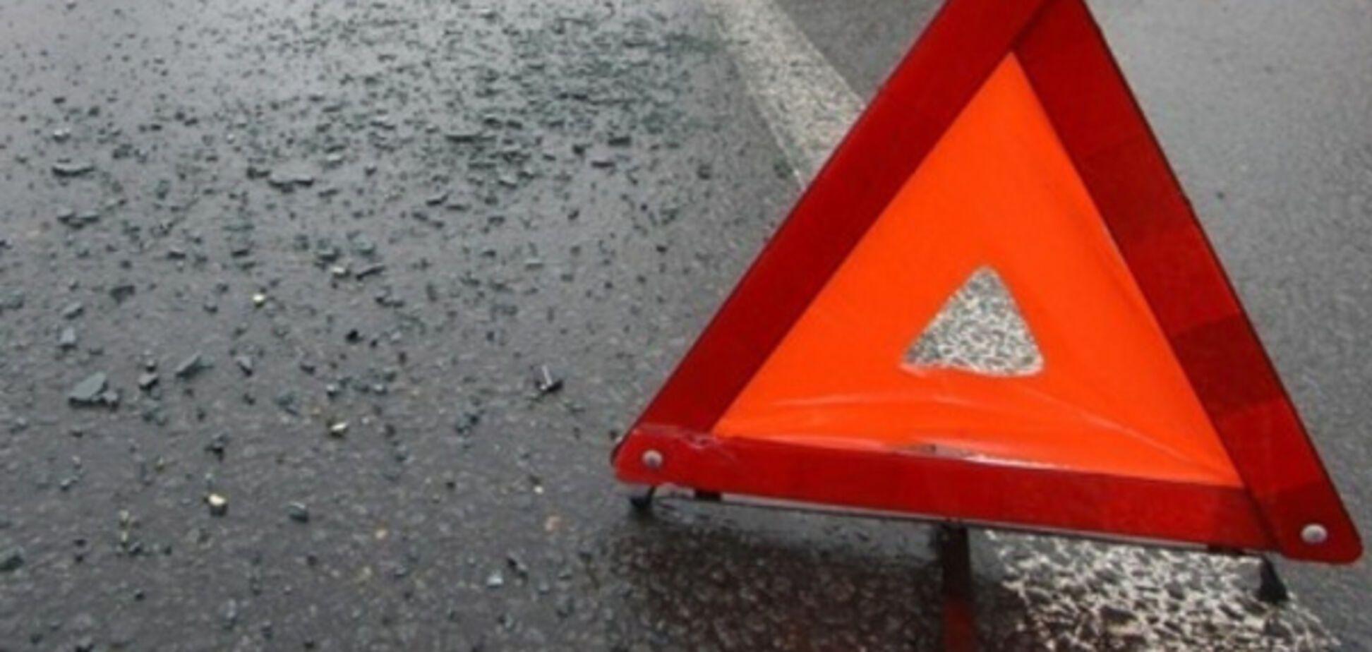 В Запорожье произошла авария с маршруткой