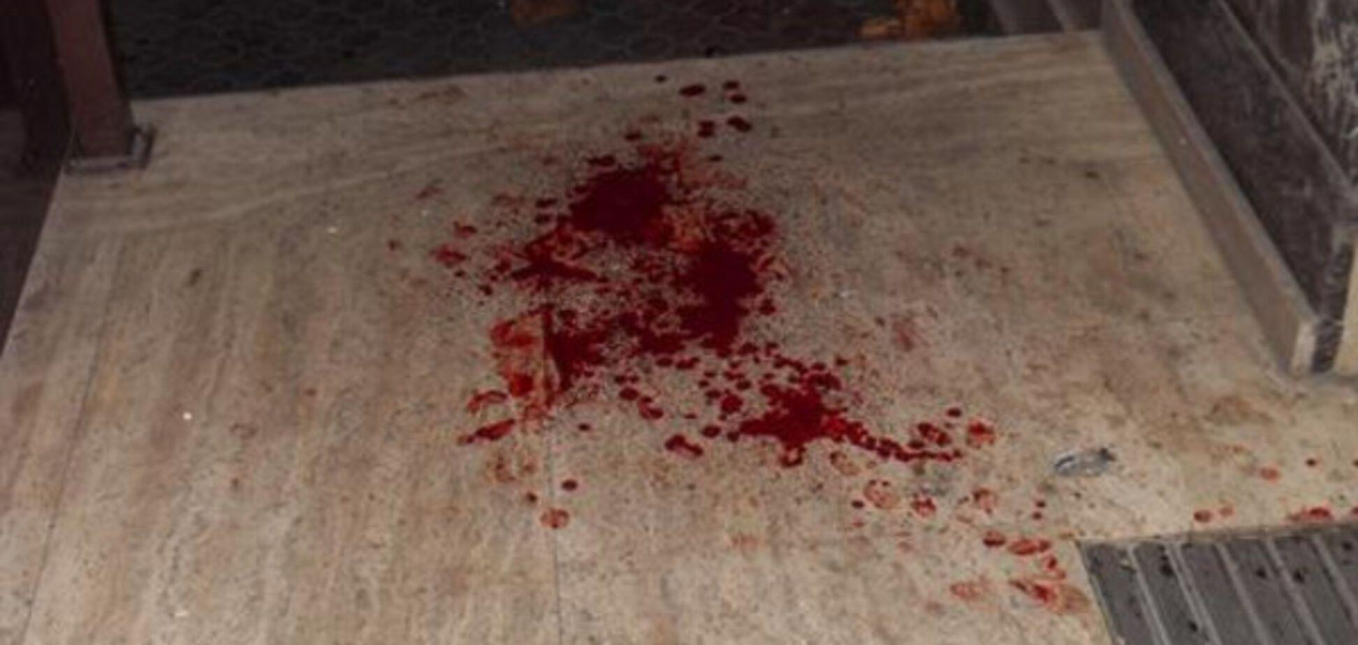 В Запорожской области женщине разрубили голову