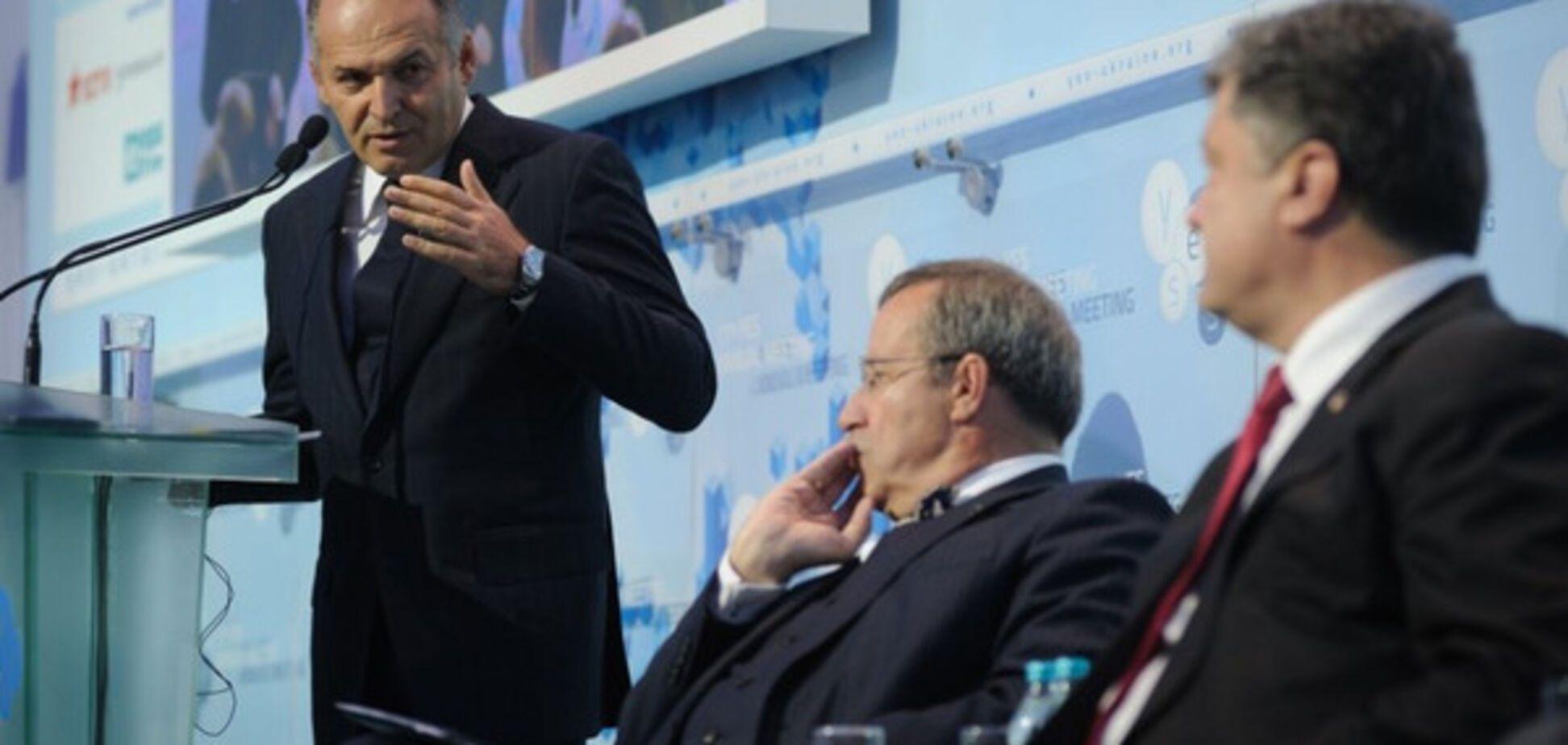 Пинчук и Порошенко