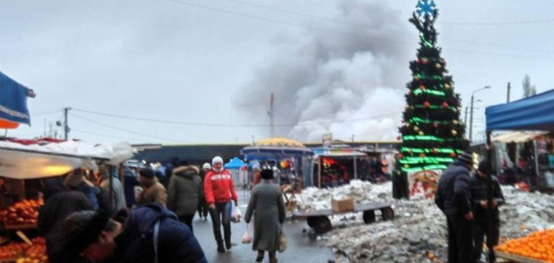 Пожежа на Привозі