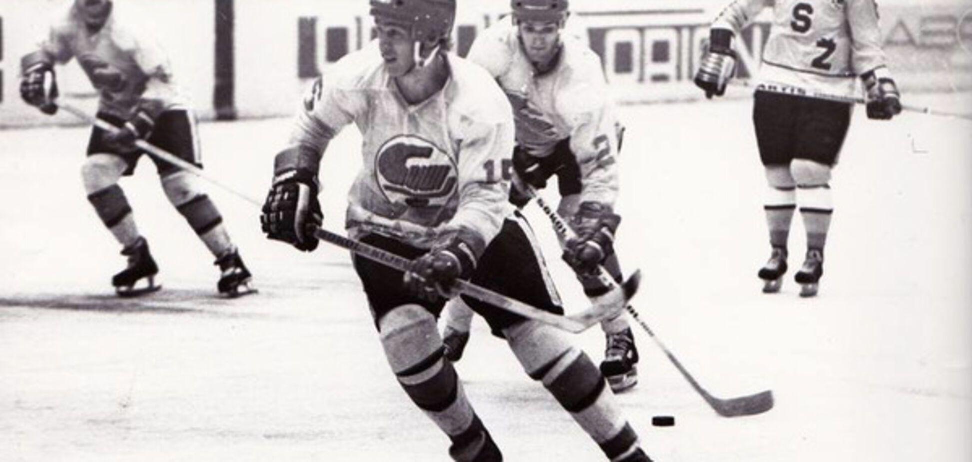 Анатолий Демин хоккей