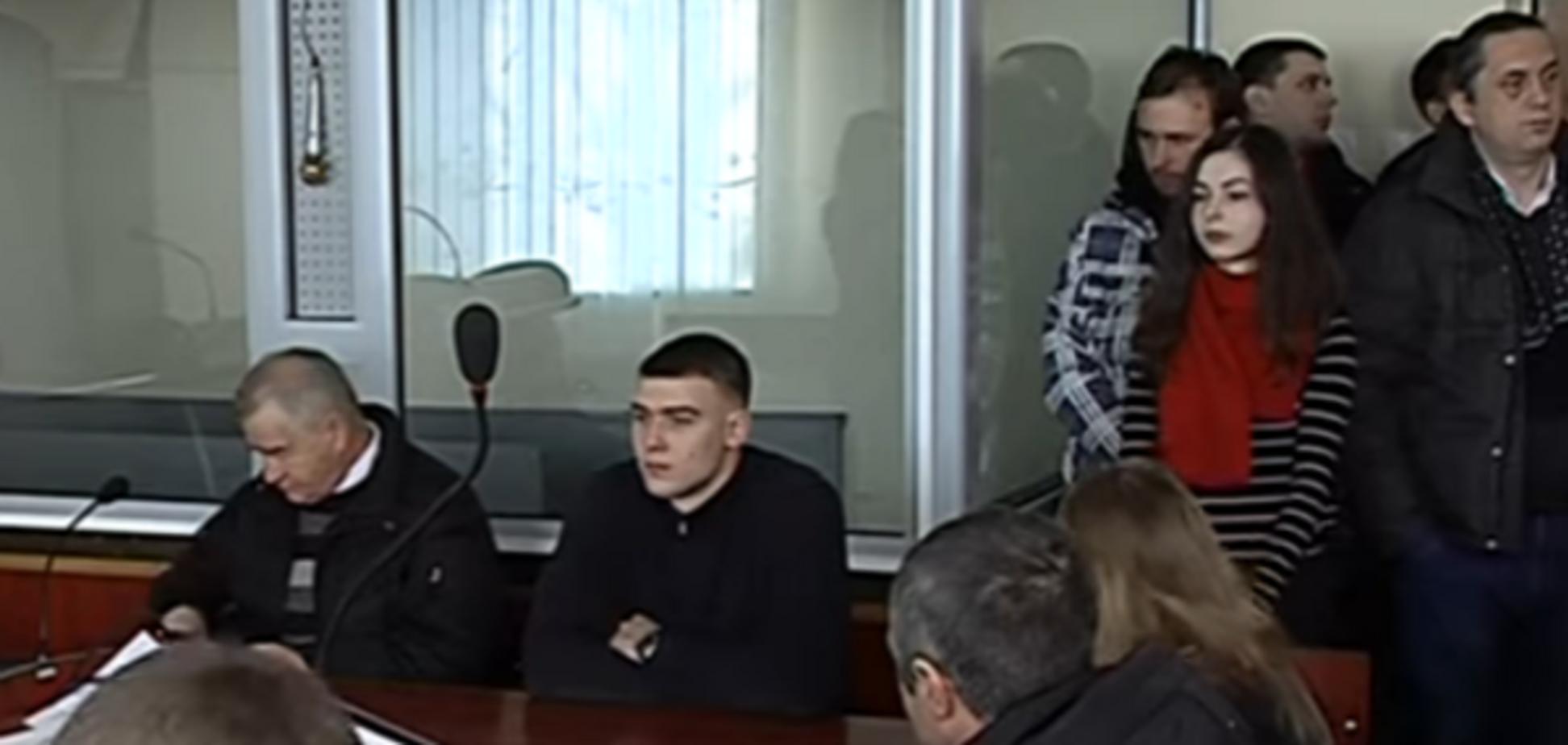 Ілля Новіков на лаві підсудних