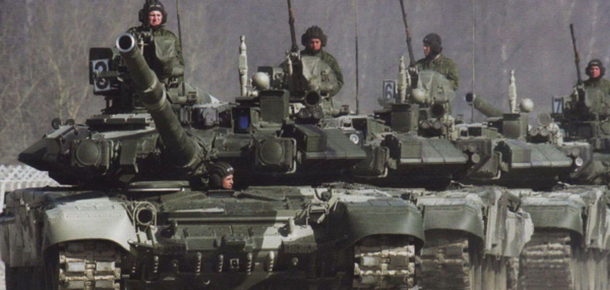 Російські війська на кордоні з Україною