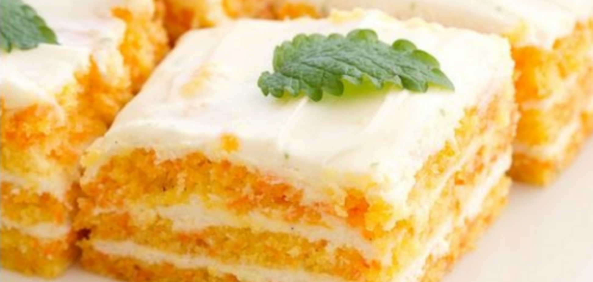 низкокалорийный морковно-яблочный торт без муки