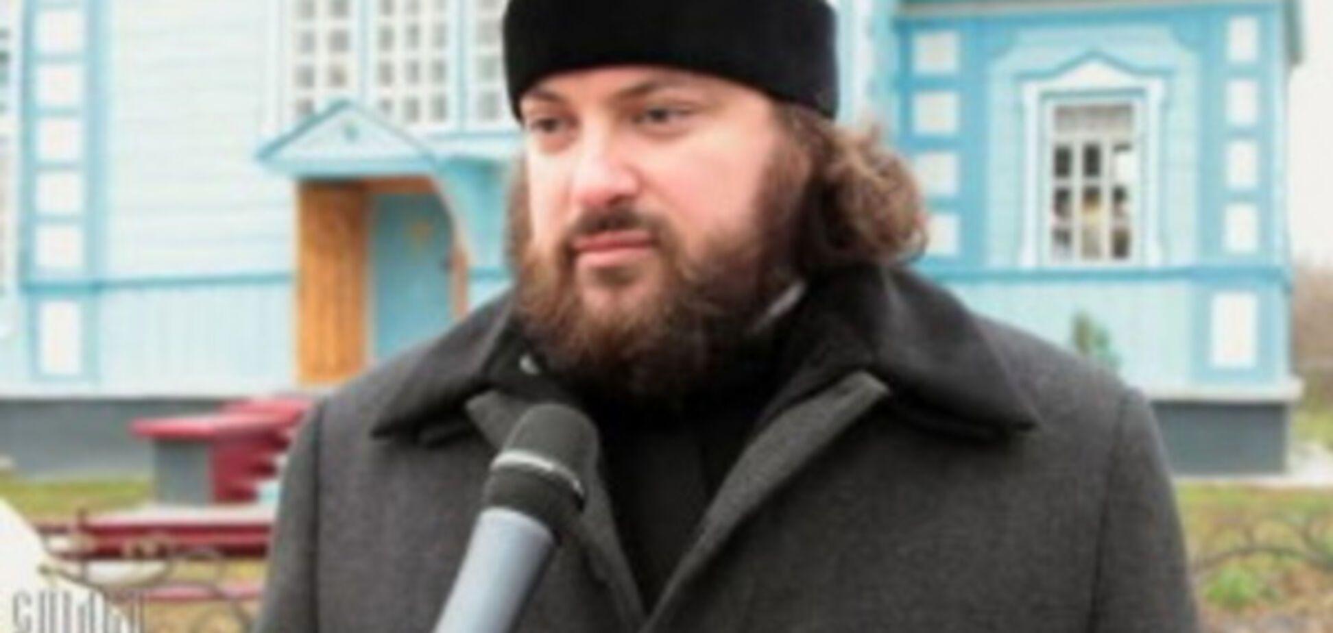 Организатор Крестного хода, протоиерей УПЦ МП Виктор Земляной