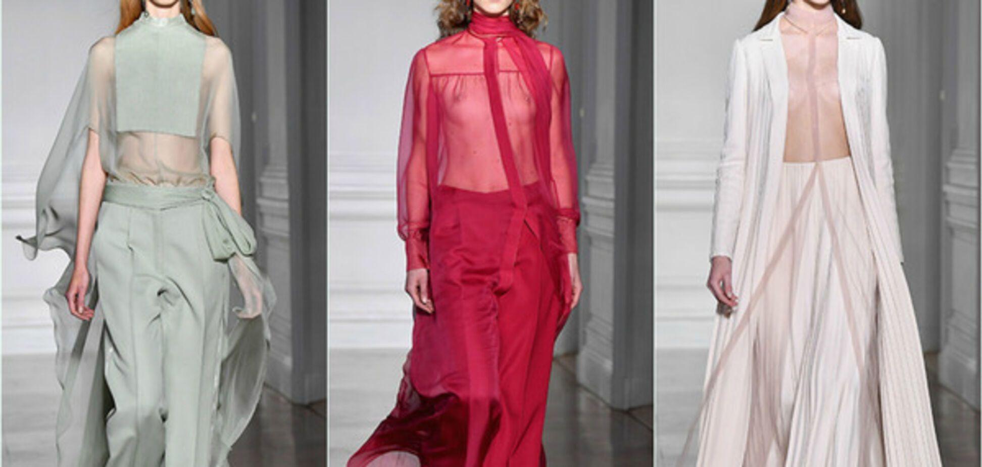 Показ Valentino Haute Couture
