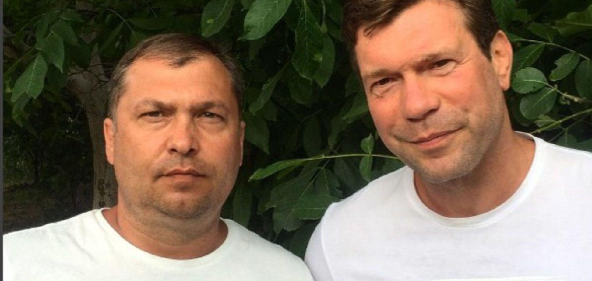 Валерий Болотов и Олег Царев