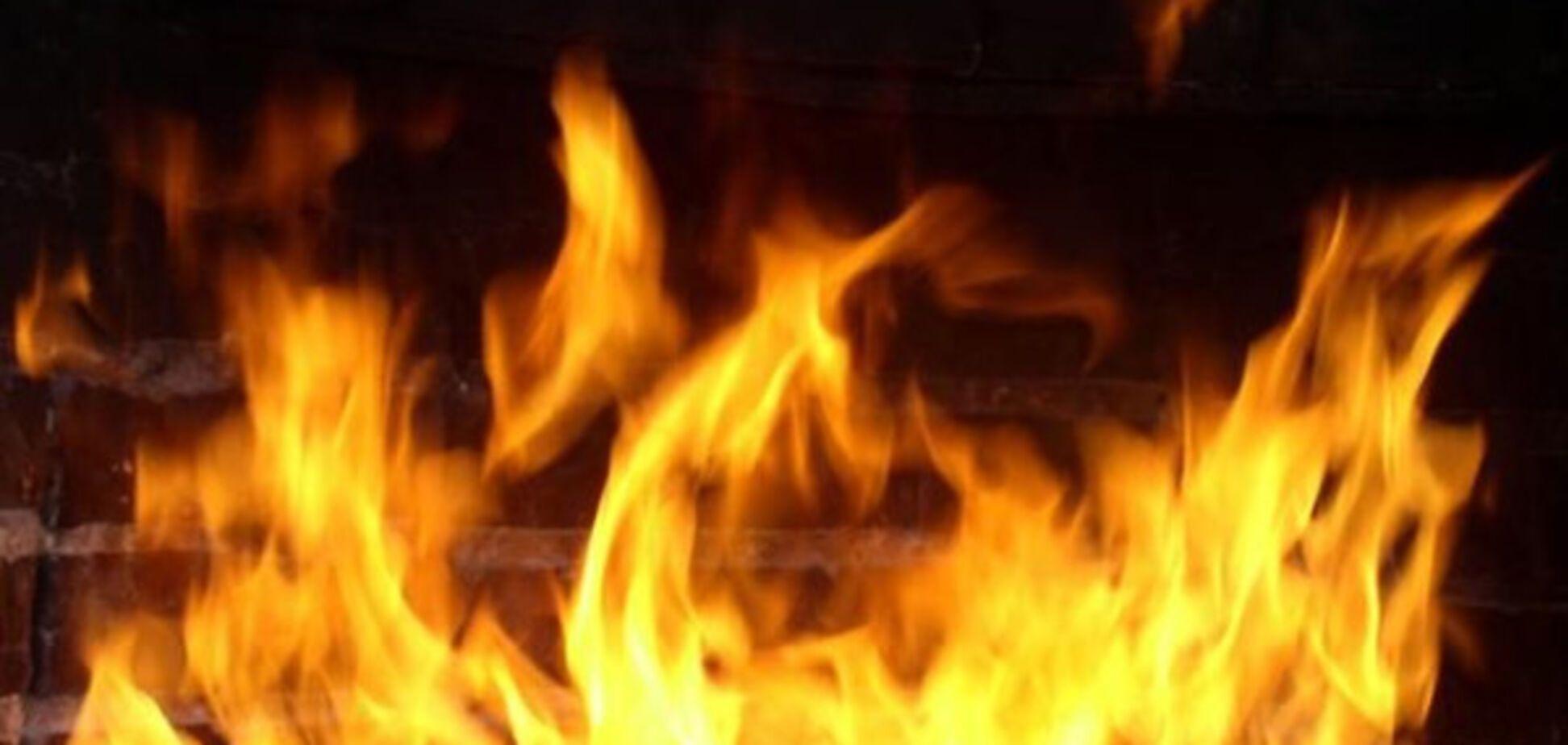 В Запорожской области горела маслобойня. Есть пострадавшие