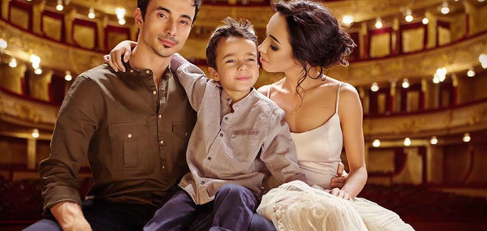 Балерина Катерина Кухар вперше показала свого сина