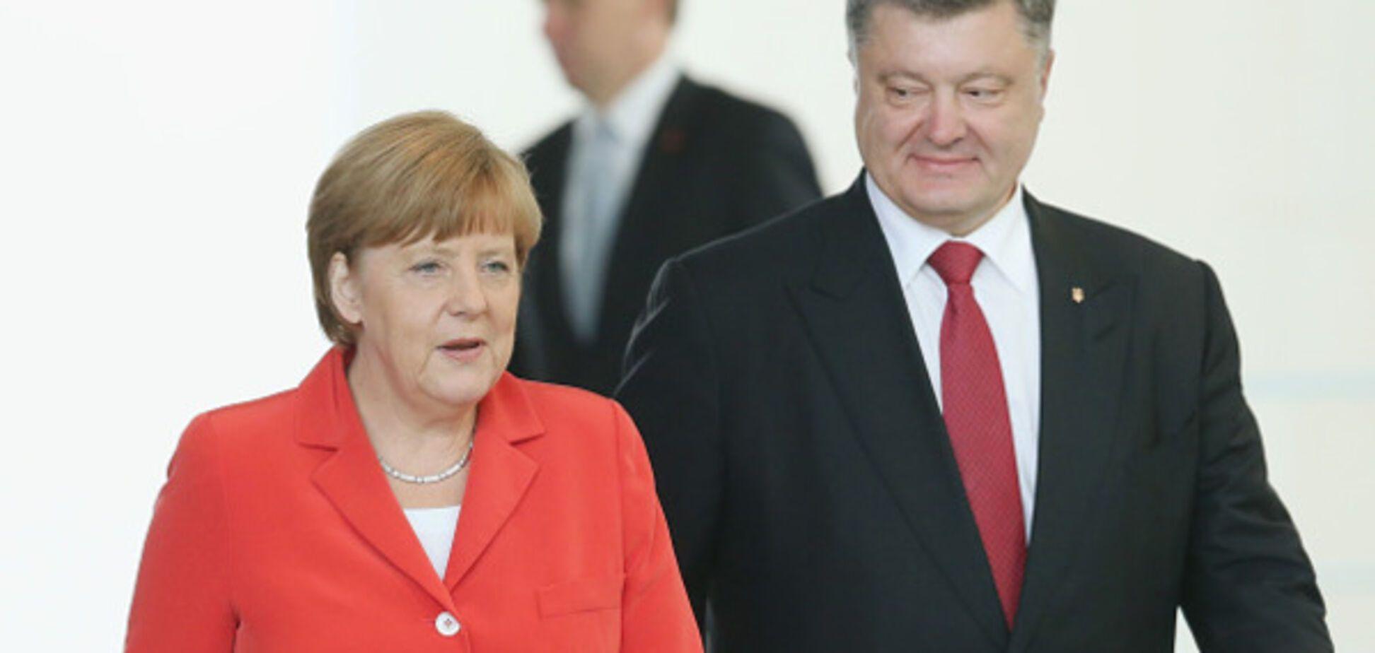 Меркель і Порошенко