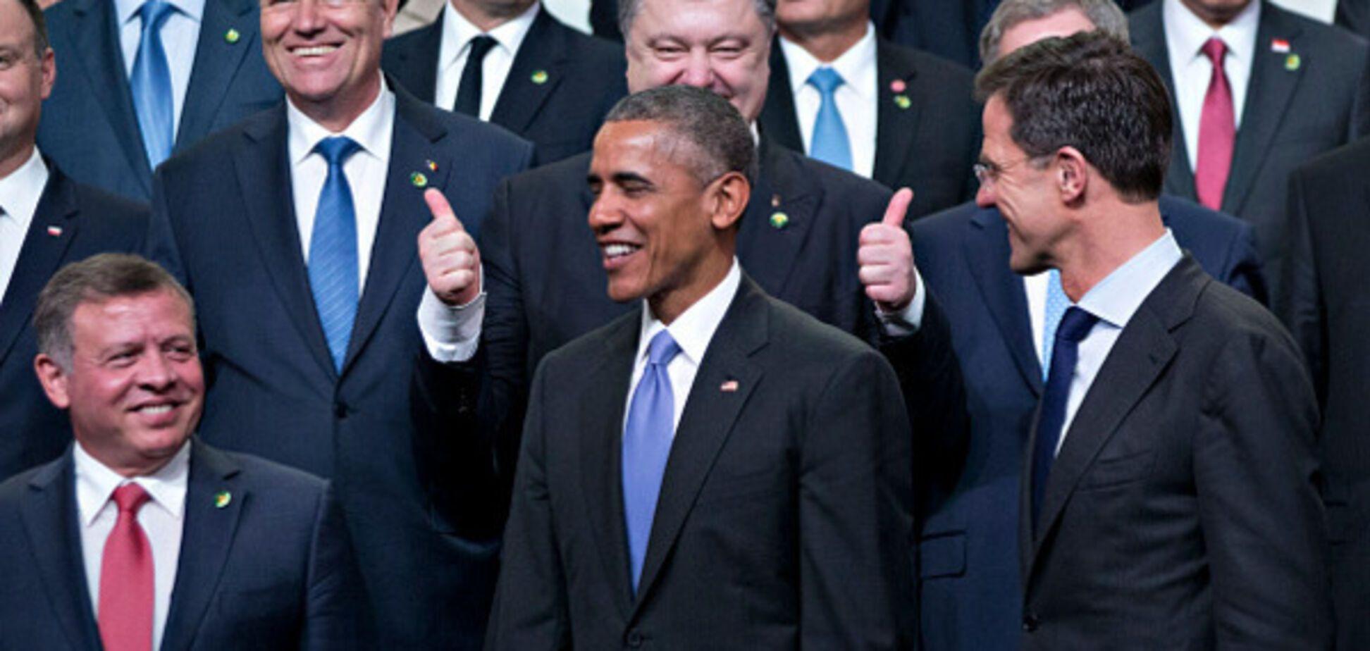 Порошенко і Обама