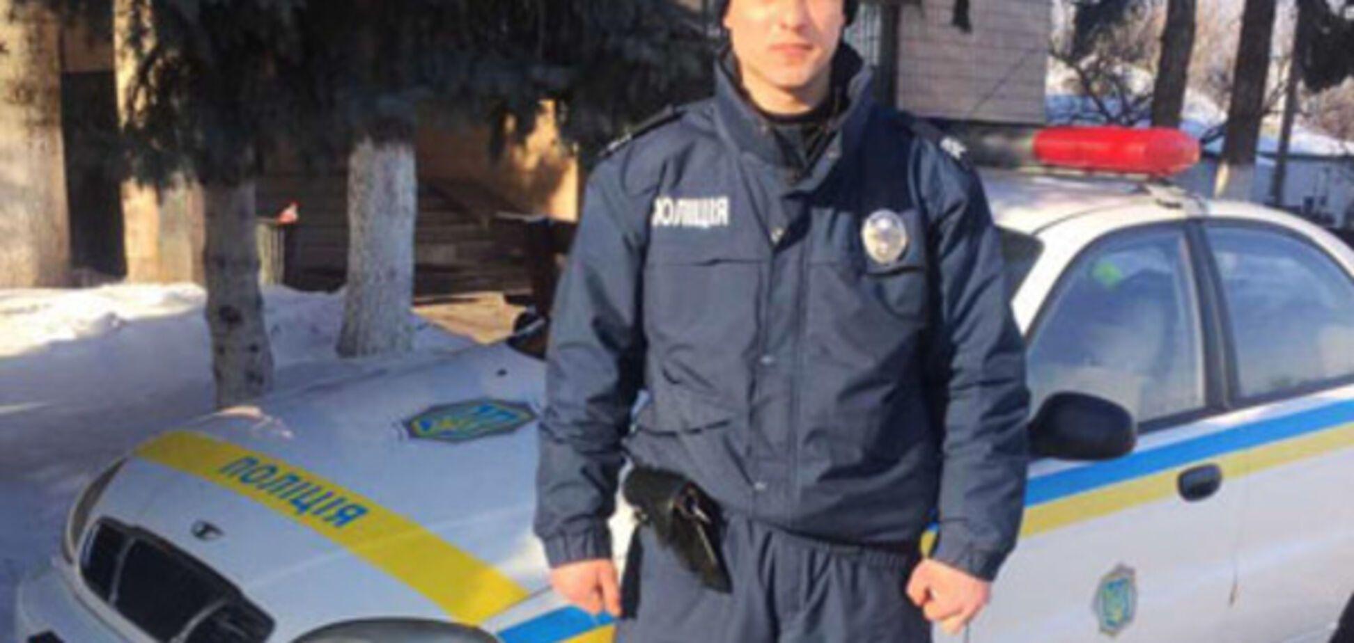 Поліцейський Михайло Какама