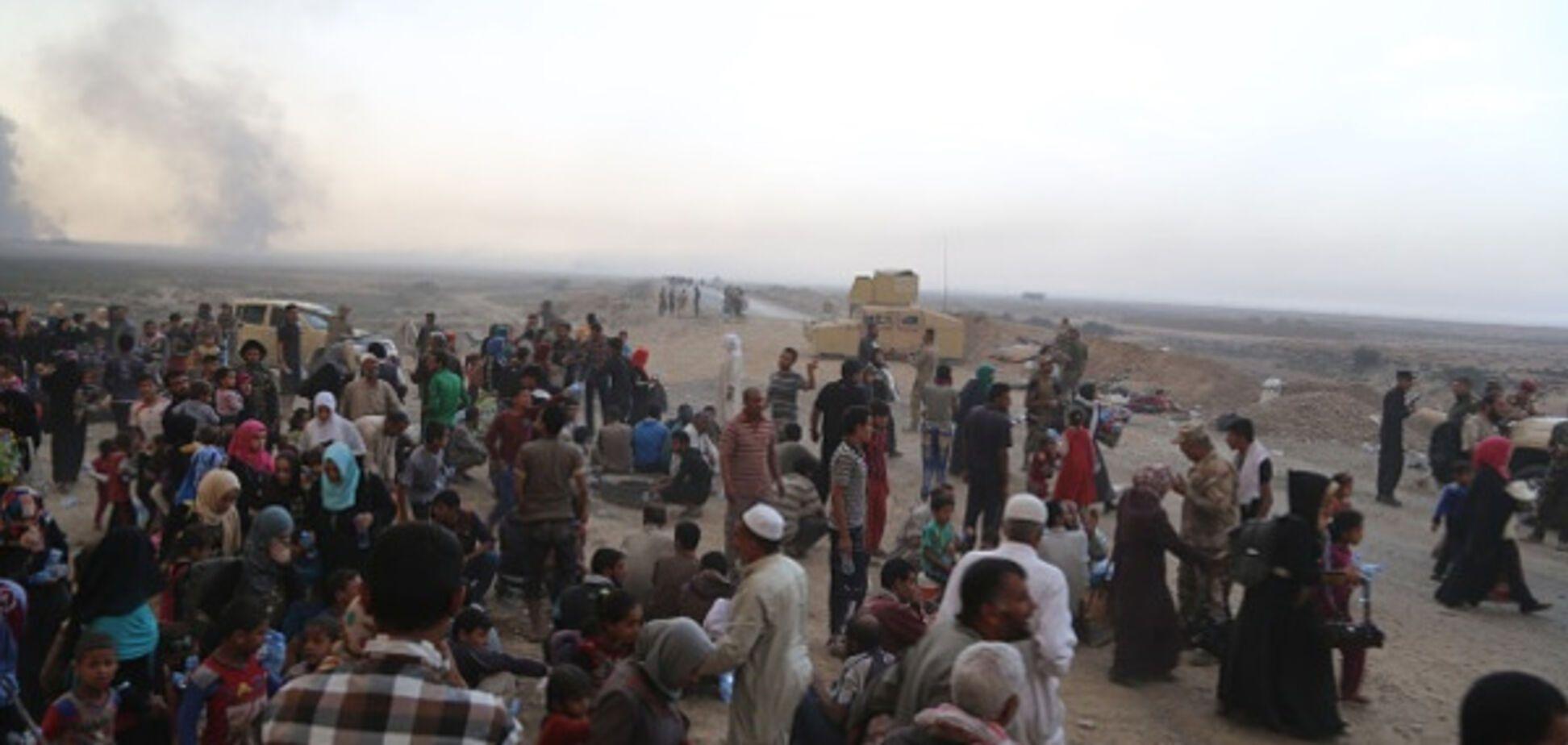 Біженці залишають Мосул