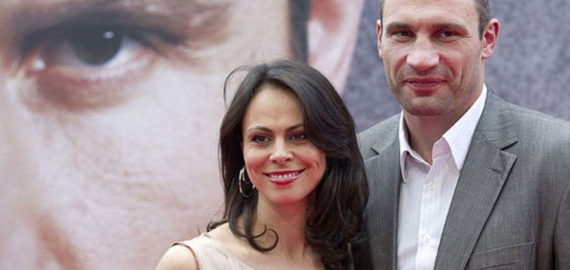 Виталий и Наталья Кличко