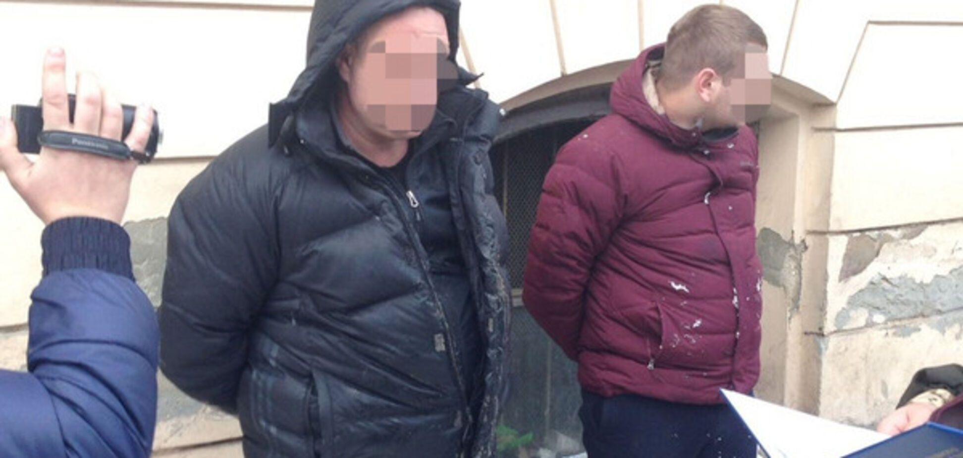 Во Львове задержали СБУшника
