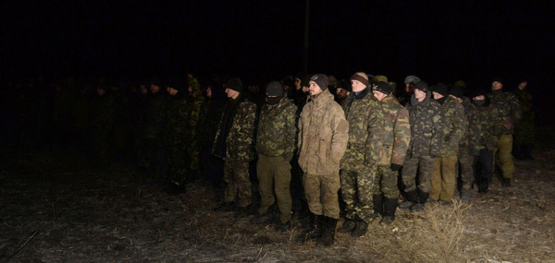 обмен пленными Донбасс