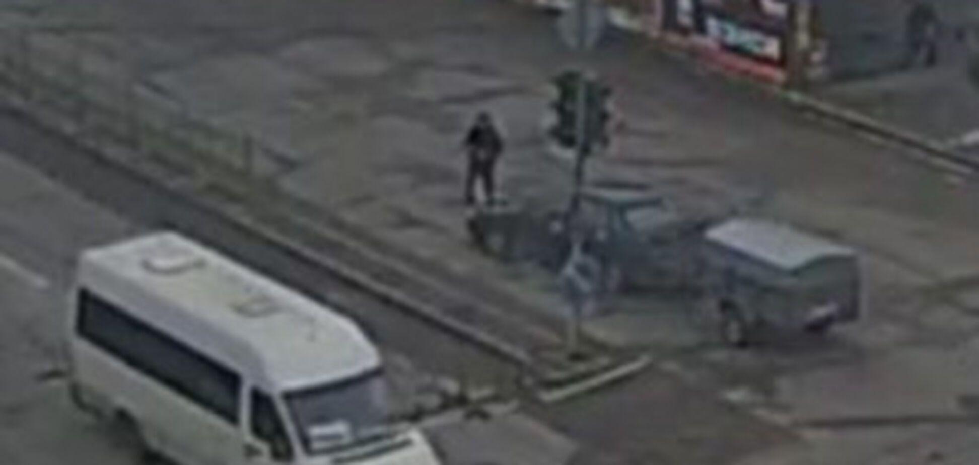 В центре Запорожья погиб мужчина