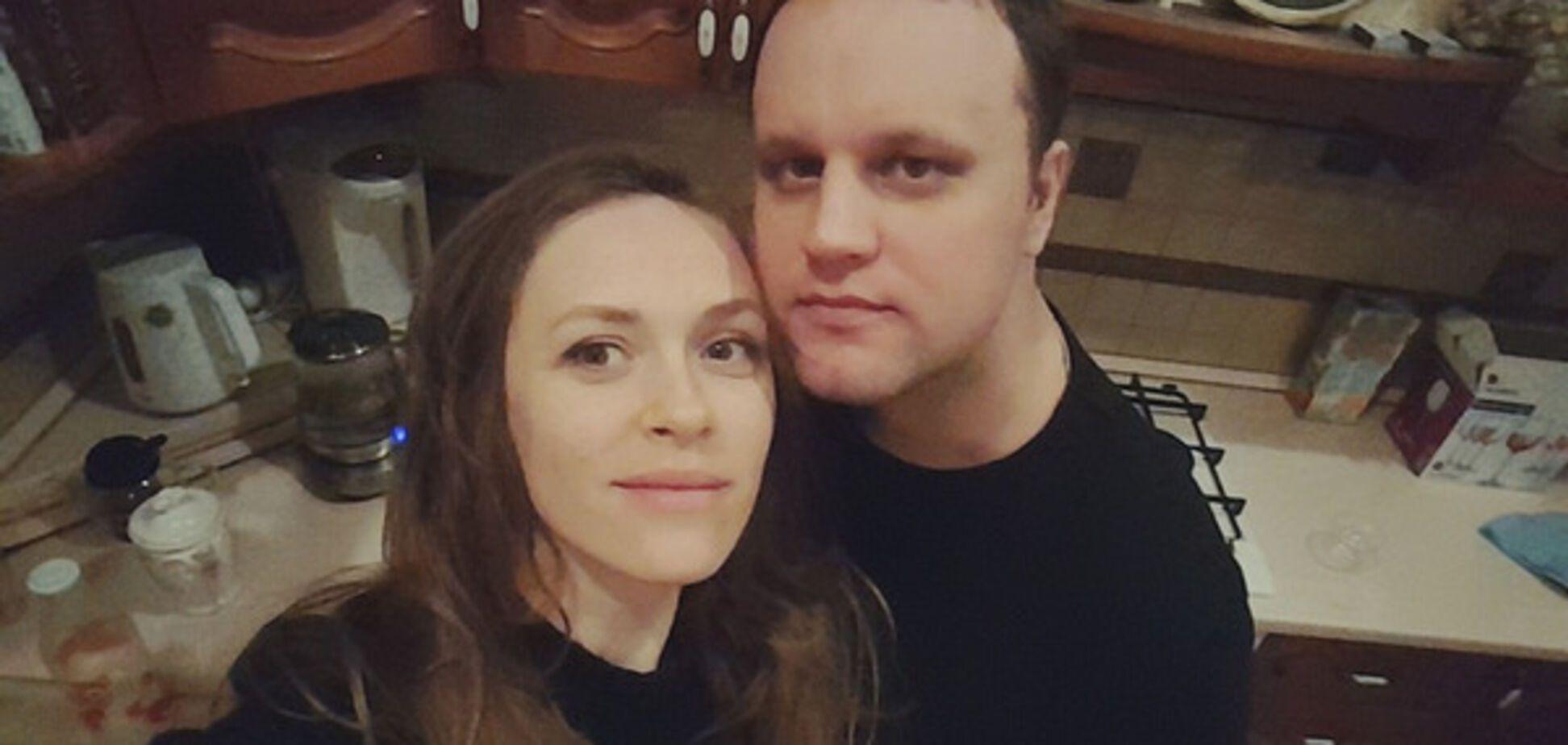 Губарев с женой