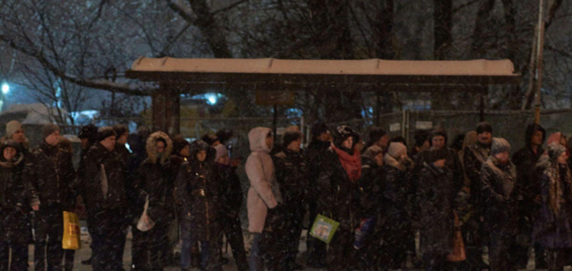 Зима в Росії