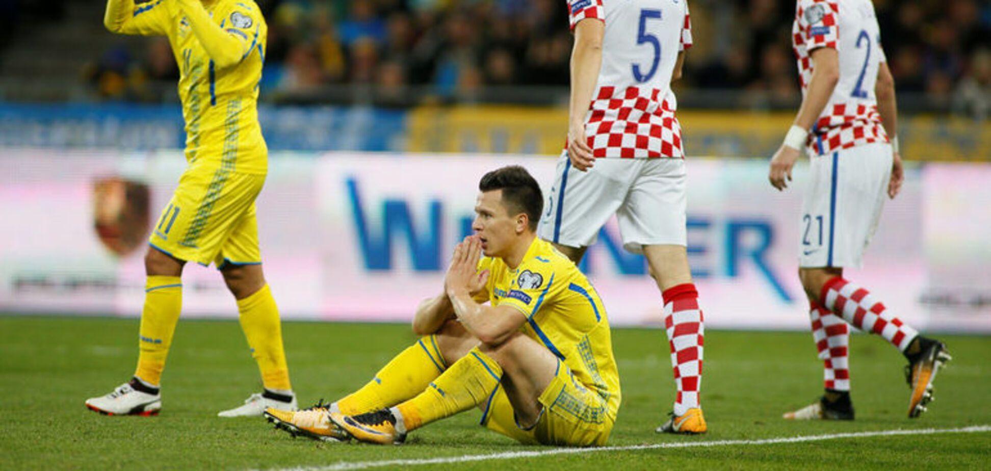 Украина Хорватия