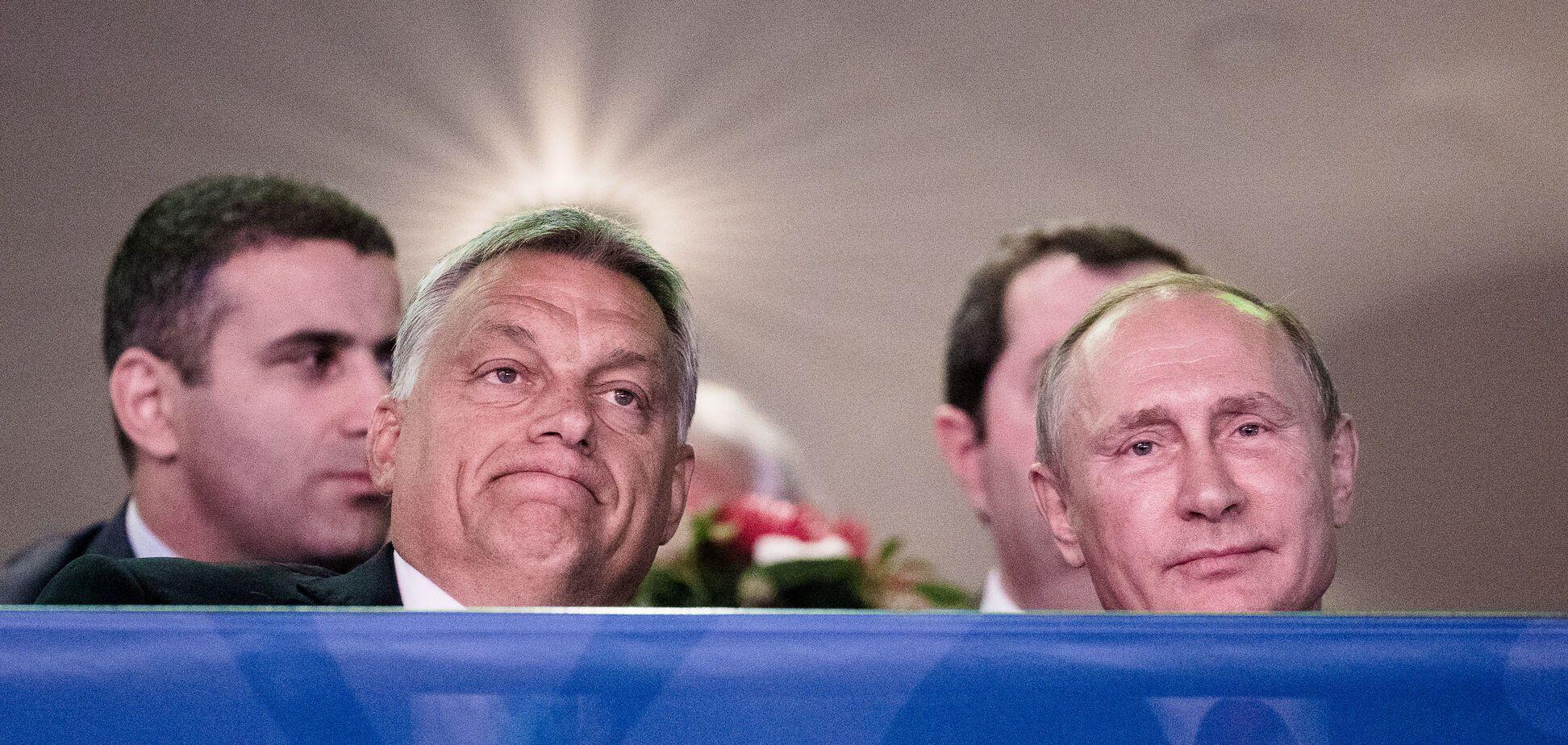 Путін і Орбан