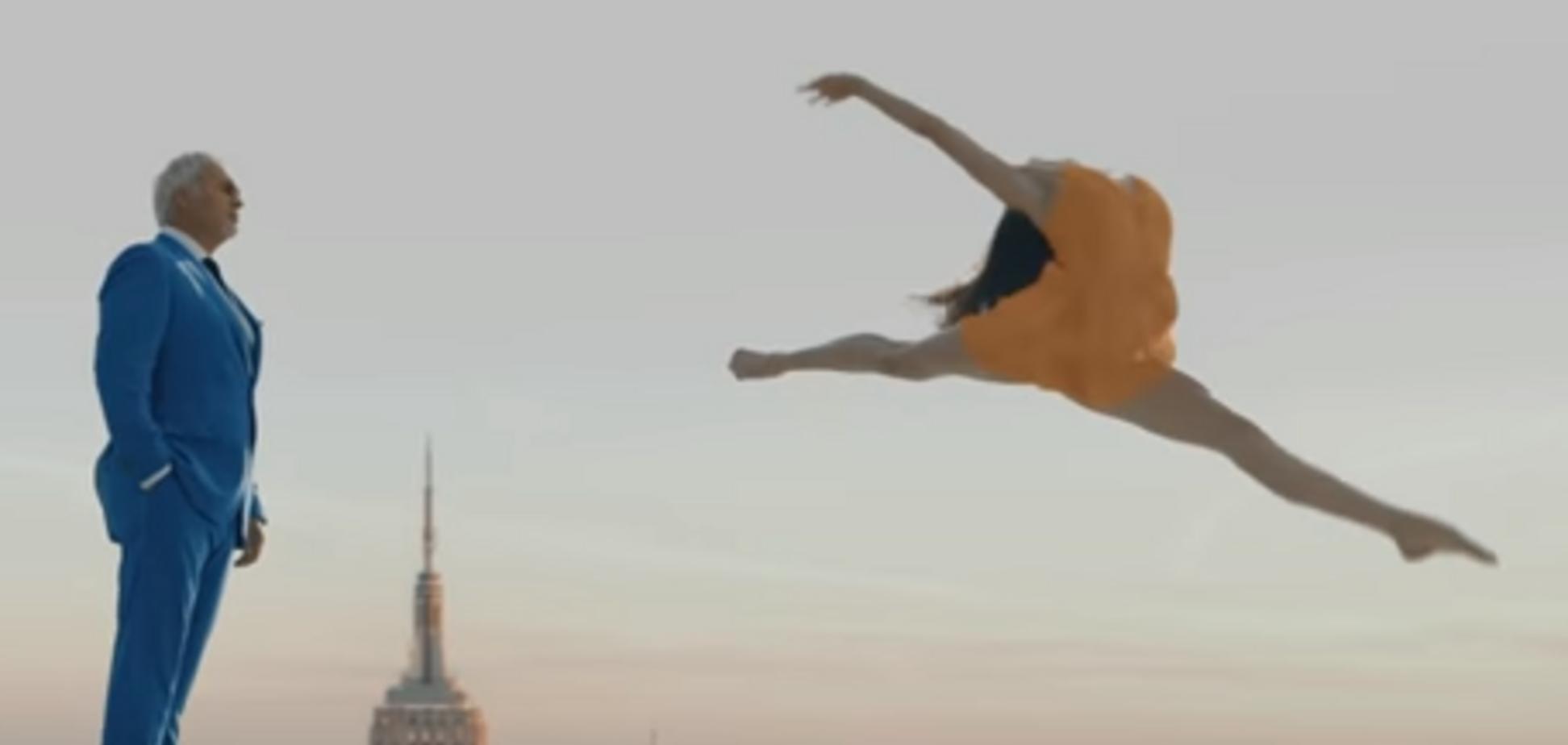 Українка в кліпі Меладзе