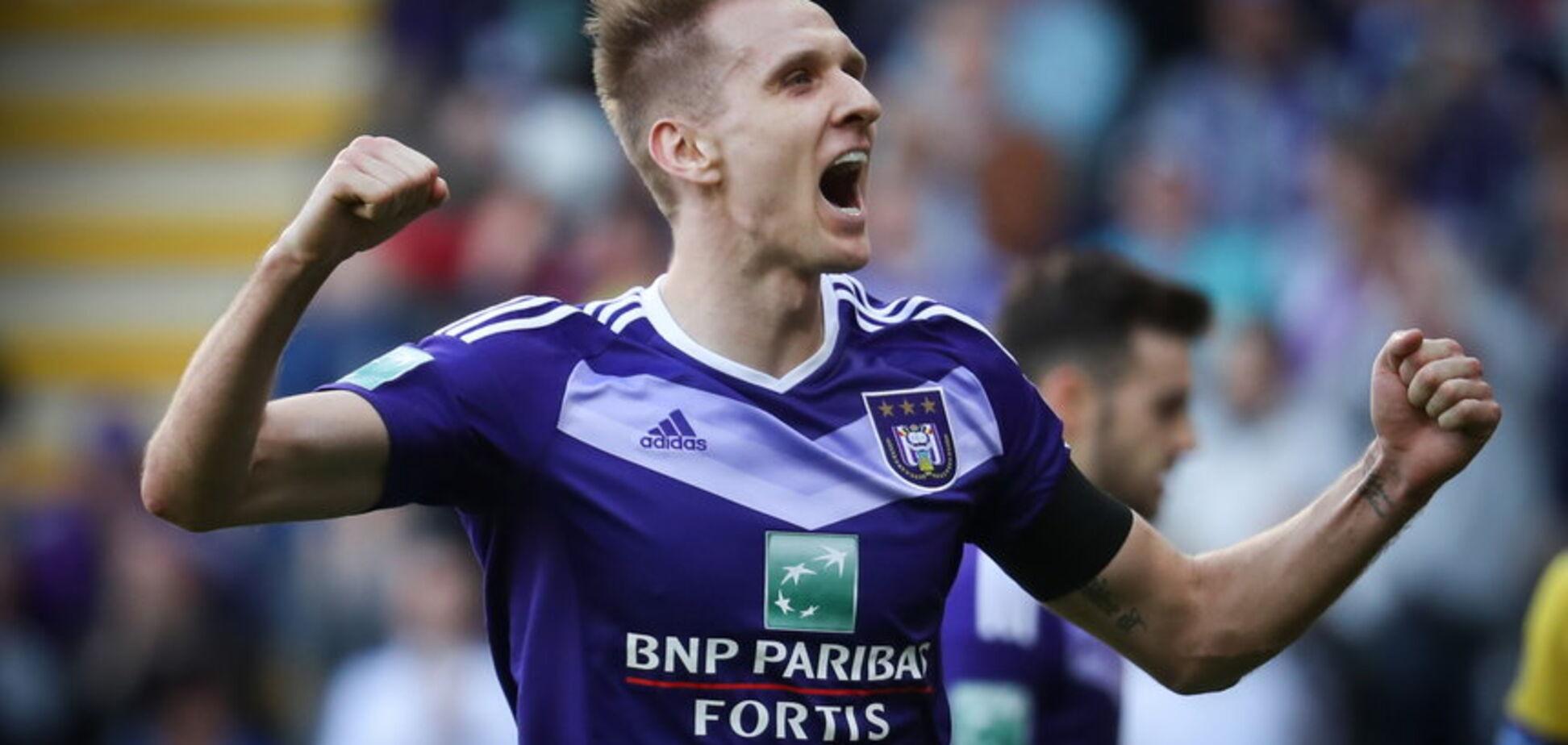 Выгнанный Ребровым форвард забил роскошный победный гол в Бельгии: видео шедевра