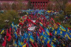 'Фашисты рвутся к власти': в России устроили истерику из-за марша УПА в Киеве