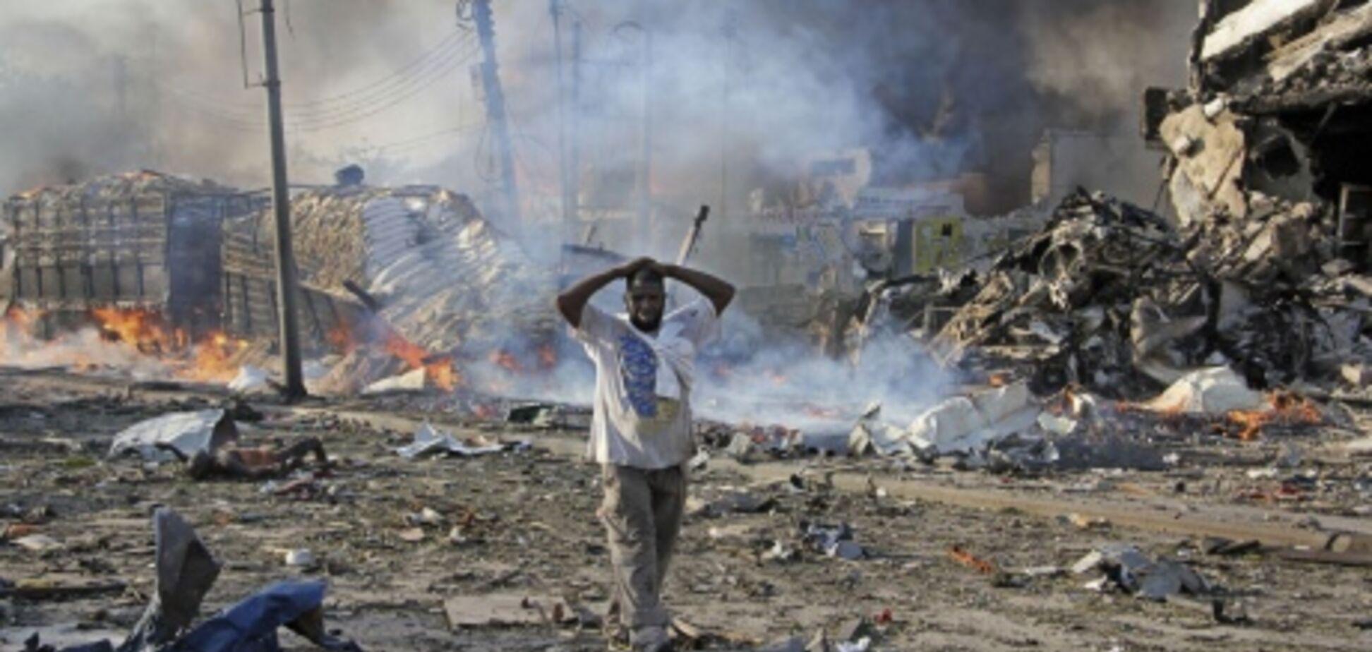 У Сомалі стався страшний теракт: сотні загиблих і поранених