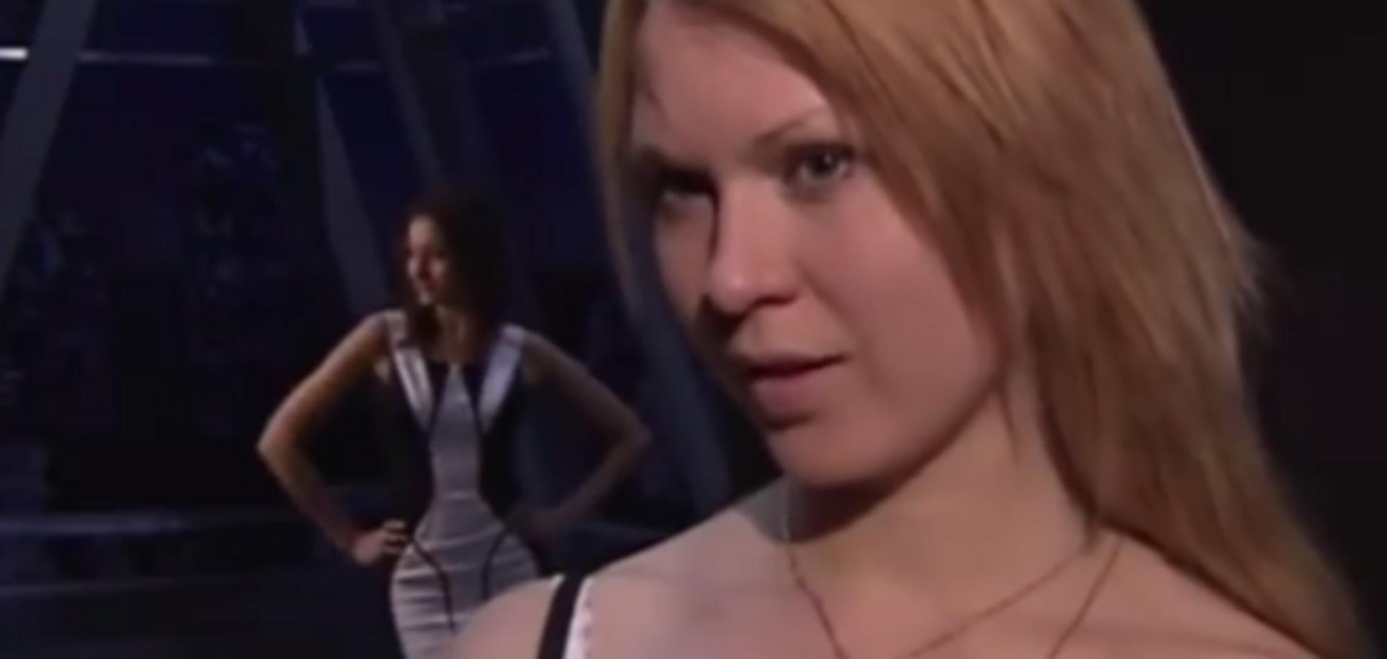 Участница кастинга на конкурс Русские красавицы
